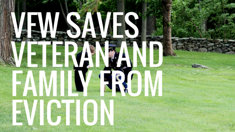 48 Hours From Eviction, Iraq War Veteran and Family Find Hope With theVFW
